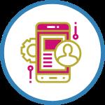 digital web agency application development icon