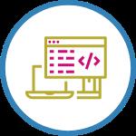 digital web agency software development icon