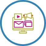 digital web agency Digital Marketing icon