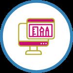 digital web agency UXUI design icon